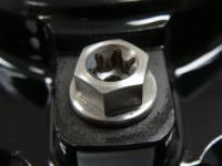 CORSE DYNAMICS Titanium Rotor Bolt Kit: Ducati:  8X20 [Set Of 10]