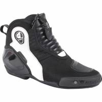 Men's Apparel - Men's Footwear - DAINESE Closeout  - DAINESE Dyno D1 Shoes - BLACK/WHITE/ANTHRACITE -[CLOSEOUT-No Returns or Exchanges]