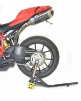 Tools, Stands, Supplies, & Fluids - Stands - Moto-D - MOTO-D PRO-SERIES S/S SWINGARM STAND: 1098/1198/1199/1299/SF1098/M1200/MTS1200