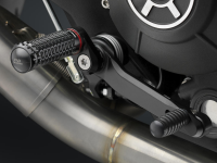 RIZOMA Rear Set Controls: Scrambler