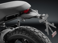 RIZOMA FOX License Plate Support: Scrambler