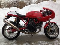 OZ Motorbike Piega Forged Aluminum Wheel Set: Ducati Sport Classic [Silver Edition]