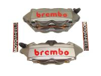 Brake - Calipers - Brembo - BREMBO Cast Monobloc M4 Calipers: 100mm Radial Mount Only