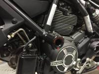 SPEEDYMOTO Complete Slider Kit: Ducati Scrambler