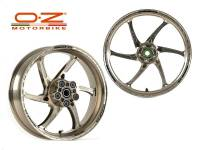 OZ Motorbike Gass RS-A Forged Aluminum Wheel Set: Ducati Sport Classic