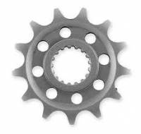 Drive Train - Front Sprockets - SUPERLITE - SUPERLITE 520 Pitch Chromoly Steel Drilled Countershaft Front Sprocket: Models as listed