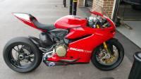 Termignoni Titanium/CF Front Exit Slip-On Exhaust: Ducati 899/959/1199/1299.