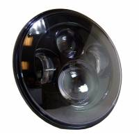 "Corse Dynamics - CORSE DYNAMICS 7 Inch LED Vettore ""Daymaker"" Headlight w/ Adapter Ring - Image 3"
