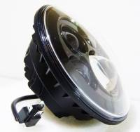 CORSE DYNAMICS 7 Inch LED Vettore Headlight w/ Adapter ring