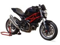HP Corse Hydroform Slip-On Exhaust System: Monster 1100 EVO