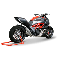 HP Corse Hydroform Slip-On Exhaust System [Evolution Line]: Diavel
