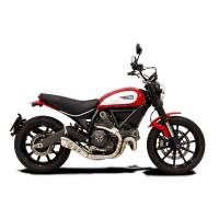 HP Corse Hydroform Slip-On Exhaust System:  Scrambler