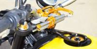 Ducabike Steering Damper Support Kit for Ohlins: Ducati Scrambler