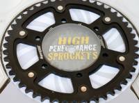 Supersprox - SUPERSPROX Stealth 520 Alloy/Steel outer Sprocket: OZ/BST/Marchesini BLACK ONLY