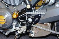 Ducabike Rear Set Base Plate Kit: Scrambler