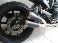 Akrapovic Titanium Full Exhaust system: Ducati Scrambler