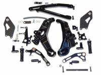 Parts - Suspension & Chassis - Ducabike - Ducabike Adjustable Billet Rearsets: Ducati Monster 821/1200 [Rider Portion]