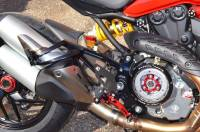 Ducabike Billet Passenger Foot Pegs & Brackets: Ducati Monster 821/1200