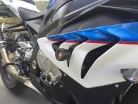 SpeedyMoto - SPEEDYMOTO No-Cut Frame Sliders: BMW S1000RR/HP4 - Image 2