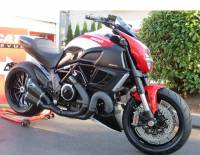Termignoni Full Exhaust System WITH BLACK CERAMIC COATING: Ducati Diavel