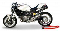 HP Corse - HP Corse Hydroform Slip-On Exhaust System: Monster 696/796/1100 - Image 2