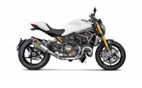 Parts - Exhaust - Akrapovic - Akrapovic Titanium Full Exhaust system: Ducati Monster 821/1200
