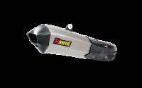 Akrapovic Titanium Full Exhaust System: Ducati Multistrada 1200 15+