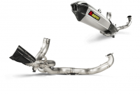 Exhaust - Full Systems - Akrapovic - Akrapovic Titanium Full Exhaust System: Ducati Multistrada 1200 '15-'17