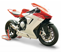 "HP CORSE EVOXTREME 310 SATIN ""LOW"" - SLIP-ON EXHAUST SYSTEM: MV AGUSTA F3 675 / 800"