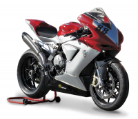 "HP Corse - HP CORSE EVOXTREME 310 SATIN ""High"" - SLIP-ON EXHAUST SYSTEM: MV AGUSTA F3 675 / 800 - Image 5"