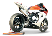 "HP Corse - HP CORSE EVOXTREME 310 SATIN ""High"" - SLIP-ON EXHAUST SYSTEM: MV AGUSTA F3 675 / 800 - Image 6"