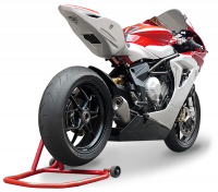 HP CORSE HYDROFORM STAINLESS SATIN Slip-On exhaust : MV AGUSTA F3 675 / 800