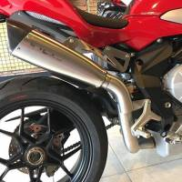 "HP CORSE EVOXTREME 310 SATIN ""High"" - SLIP-ON EXHAUST SYSTEM: MV AGUSTA F3 675 / 800"