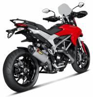 Akrapovic Titanium Slip-On: Ducati Hypermotard / Hyperstrada 821