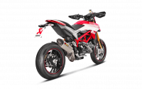 Parts - Exhaust - Akrapovic - Akrapovic Titanium Slip-On: Ducati Hypermotard 939