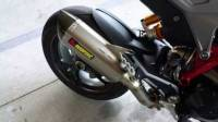 Akrapovic Titanium Slip-On: Ducati Hyperstrada 939