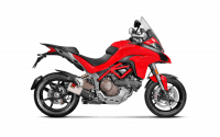 Akrapovic Titanium Slip-On Exhaust : Ducati Multistrada 1200 15+
