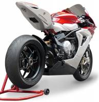 HP Corse - HP CORSE HYDROFORM  BLACK COATED STAINLESS Slip-On exhaust : MV AGUSTA F3 675 / 800 - Image 4
