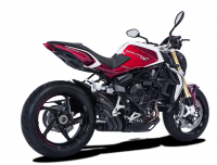 HP Corse - HP CORSE HYDROTRE BLACK CERAMIC COATED STEEL SLIP ON EXHAUST: MV AGUSTA BRUTALE 800RR - Image 2