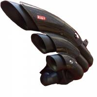 HP Corse - HP CORSEHYDROTRE BLACK CERAMIC COATED STEEL SLIP ON EXHAUST: MV AGUSTA DRAGSTER 800RR - Image 3