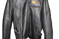 Motowheels - Classic High Quality Leather Jacket With High Quality Zippers, BST Patch & Embroidered Motowheels logo : Euro 56 / 46 US [Last one] - Image 3
