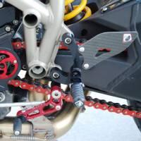 Ducabike Adjustable Rear Sets: Streetfighter [Folding Pegs]
