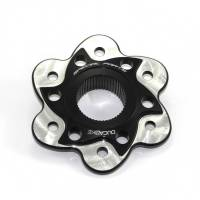 Ducabike Billet Sprocket Hub Cover: [6 Hole With Contrast]