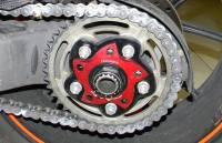 Ducabike - Ducabike Billet Sprocket Hub Cover: [5 Hole- Black Base + Color] - Image 7