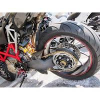 Ducabike Ducati Billet Axle Nut: SBK 748 / 916 / 996 / 998 / 848 / Monster S2R / S4R/ S4RS / 796 / 1100 Hypermotard 796 / 1100 / 821 / MTS 1000 / 1100 / Streetfighter 848 [Sprocket Side]