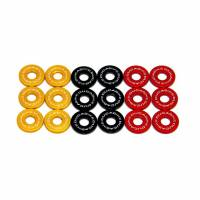 Clutch - Covers - Ducabike - Ducabike Billet Wet Clutch Hub Spring Retainer Caps: Hypermotard 796 / 620-695,696,796,797 / S2R800 / MTS 620 / Scrambler