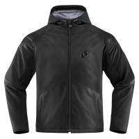 Men's Apparel - Men's Leather Jackets - Icon  - Icon Merc Stealth Jacket