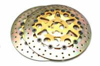 Discacciati - Brembo Exact Replica Full Floating Iron Rotors By Discacciati: [Pair]
