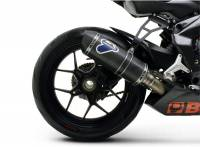 Exhaust - Slip-Ons - Termignoni - Termignoni CF/Titanium Racing Slip-On EXHAUST: MV Agusta F3 675
