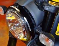 Ducabike - Ducabike Billet Headlight Ring: Ducati Scrambler 800-1100, Sixty2 - Image 2